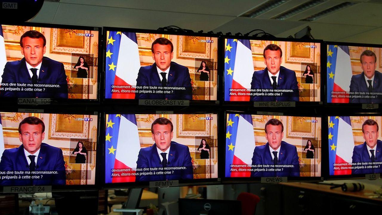 Le président de la République a annoncé la mise en place d'un déconfinement progressif à partir du 11mai.