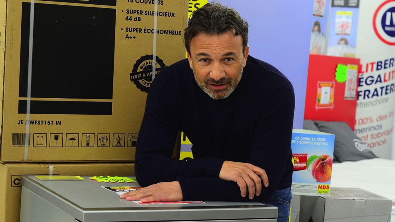 Michel Vieira, le président de MDA Company, champion de l'électroménager discount, a une obsession: ne pas endetter son entreprise pendant la crise