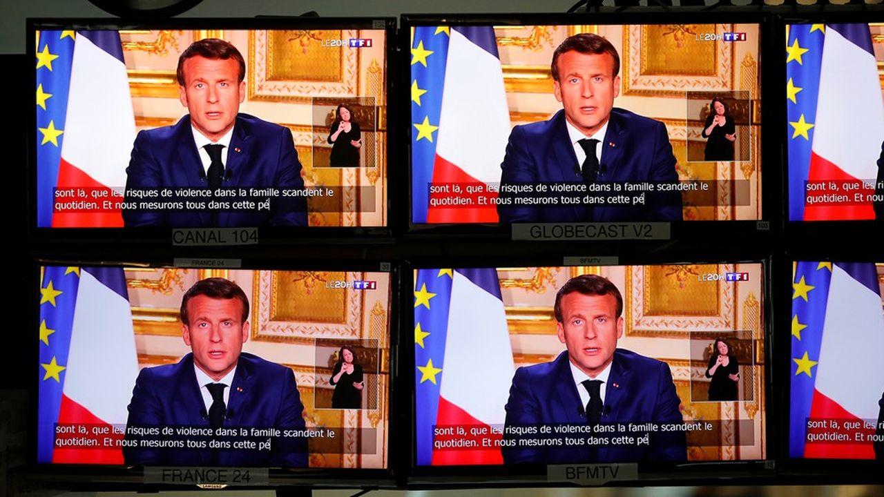 TF1 a été la chaîne la plus regardée durant l'intervention d'Emmanuel Macron, engrangeant une part d'audience de 37,6%.