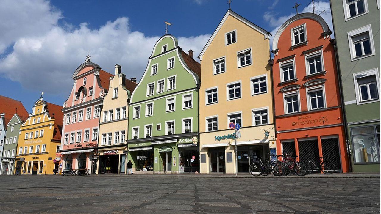 A Landshut, comme dans le reste de la Bavière, le confinement a commencé avant les autres régions allemandes et risque de se poursuivre longtemps. Les centres-villes sont menacés.