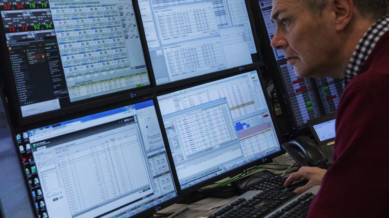Les secousses des marchés financiers sont suivies de près par les cellules de crise des banques.