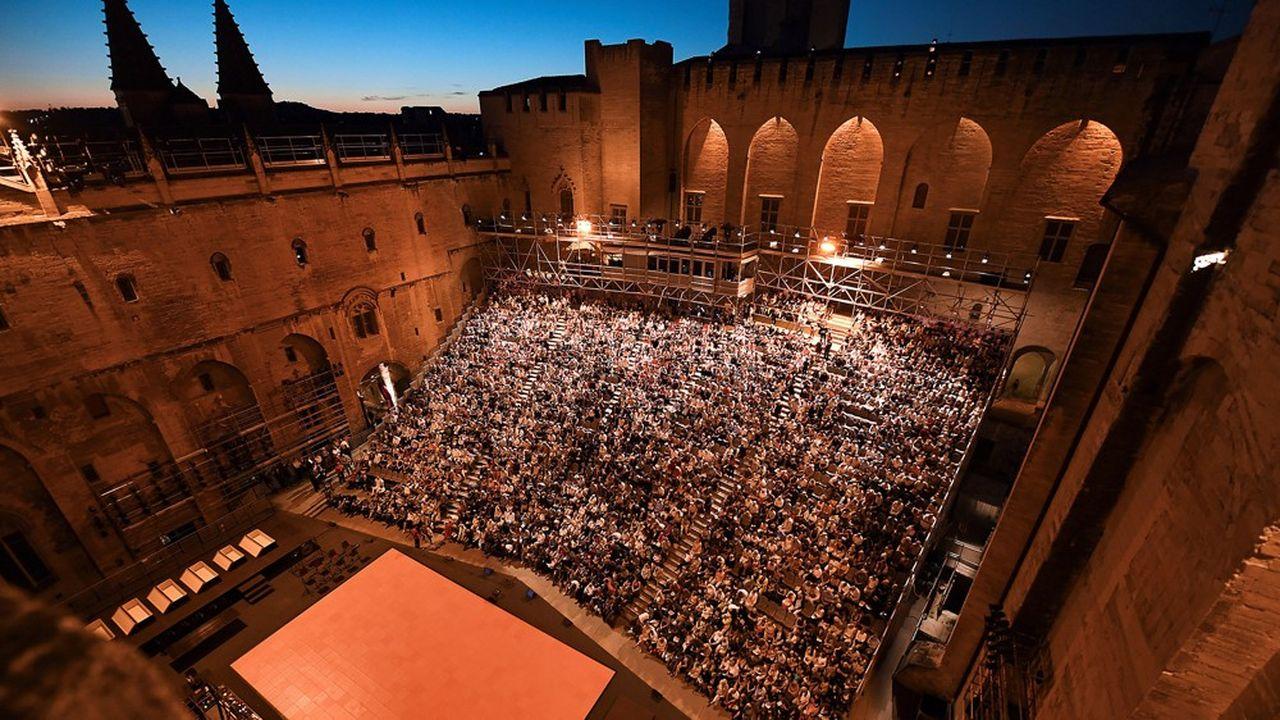 Les retombées du festival d'Avignon sont estimées à 25millions pour le In et 75 pour le Off.