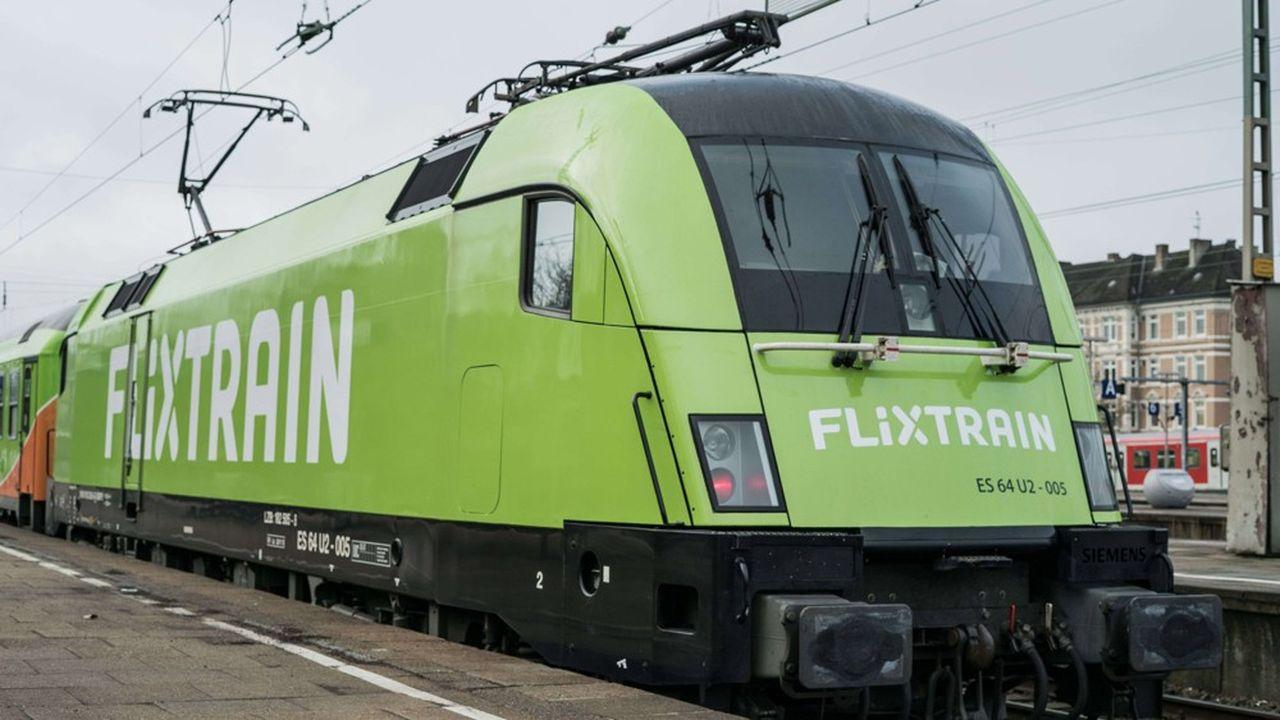 FlixTrain exploite déjà des trains de passagers face à Deutsche Bahn, comme ici sur la ligne reliant Hambourg à Cologne