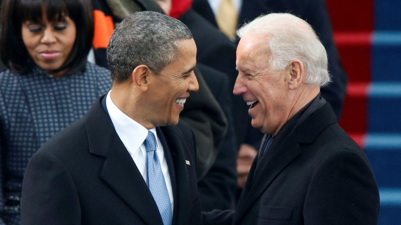 «Joe a le caractère et l'expérience pour nous guider à travers une des périodes les plus sombres», a estimé Barack Obama (photo: le 21janvier 2013 au Capitole, lors de l'intronisation celui-ci comme président américain).