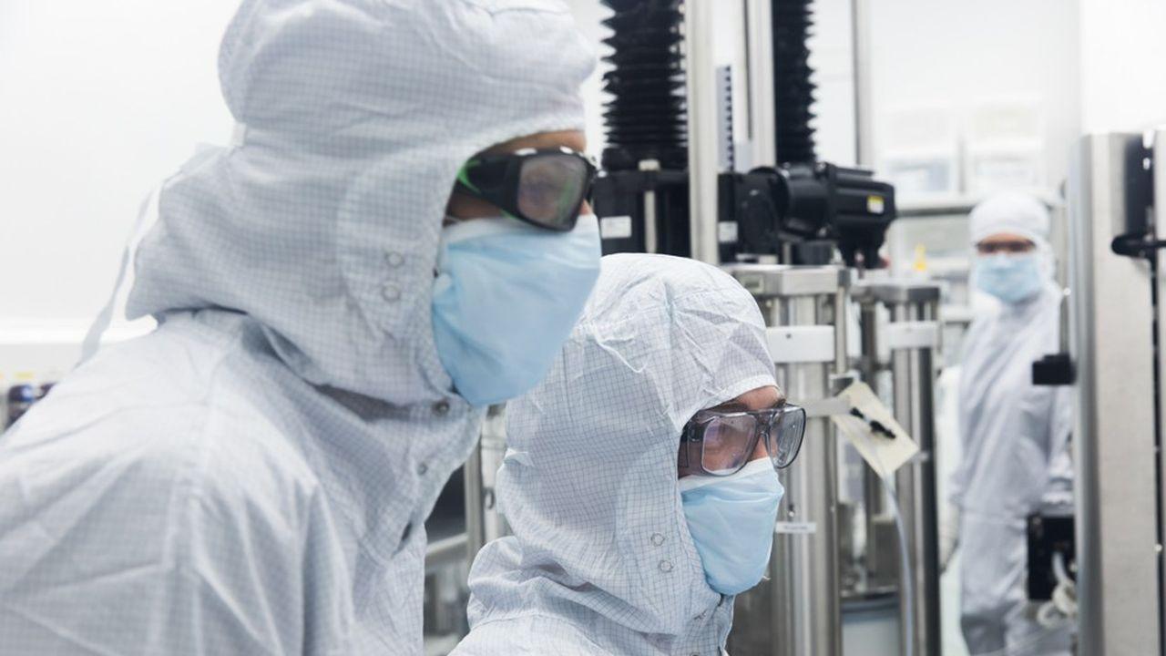 L'usine du LFB à Alès, qui est spécialisée dans la production par culture cellulaire, emploie 70 personnes