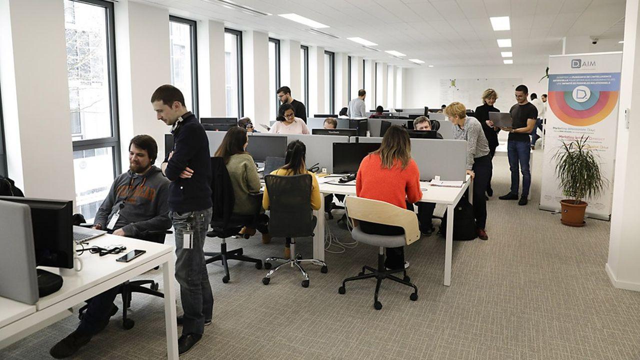 D-AIM emploie près des deux-tiers de sa centaine de salariés à son siège de Malakoff.
