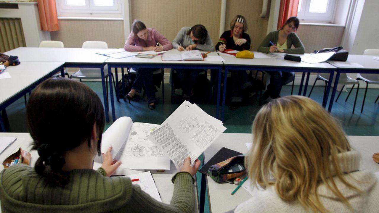 Pour les concours externes qui n'ont pas commencé, les épreuves d'admission se limiteront à des épreuves écrites.