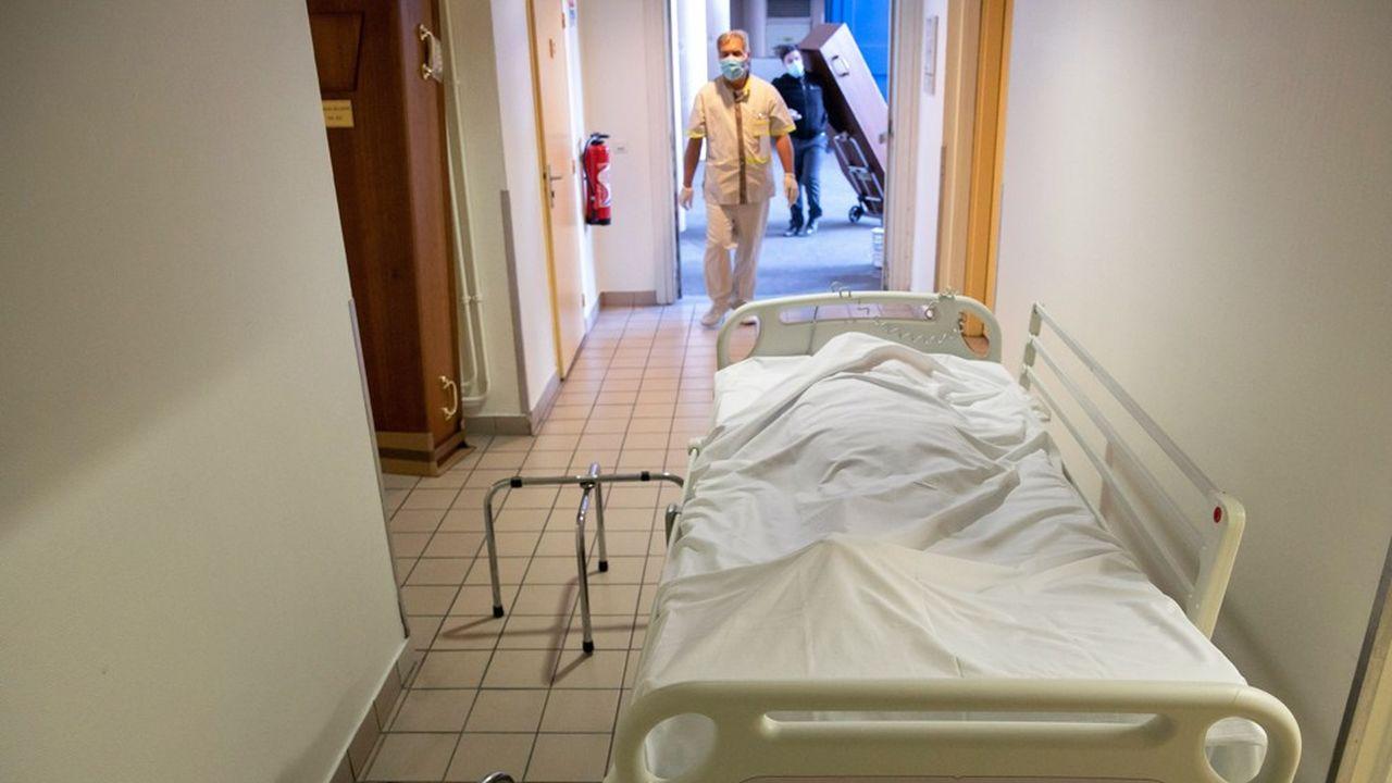 La région du Grand Est est l'une des plus touchées par l'épidémie.