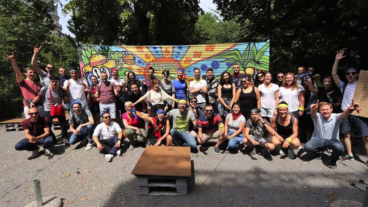 L'équipe de Spareka, composée de 25 personnes, est sur le point de s'agrandir.
