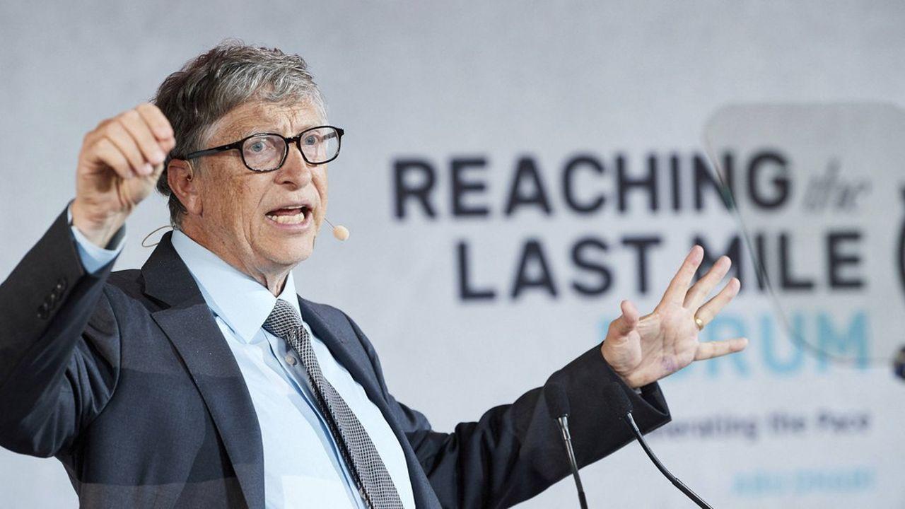 Avec sa femme Melinda, Bill Gates, via leur fondation, continue d'être aux avant-postes pour faire avancer les questions de santé publique.