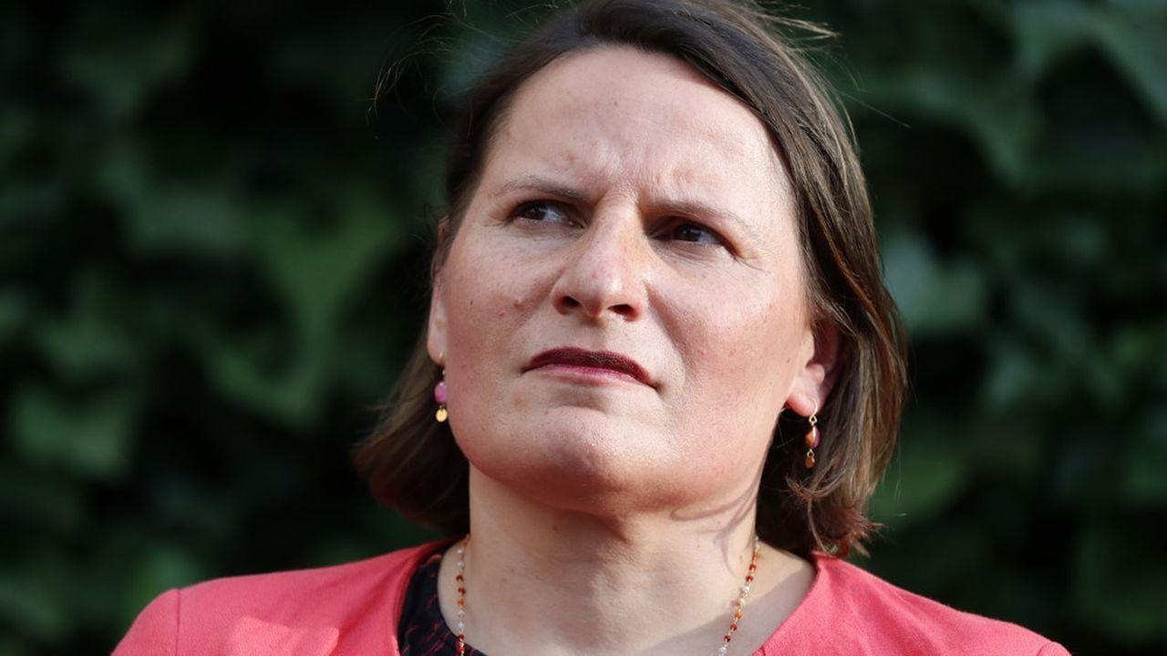 Valérie Rabault, présidente du groupe socialiste à l'Assemblée nationale.