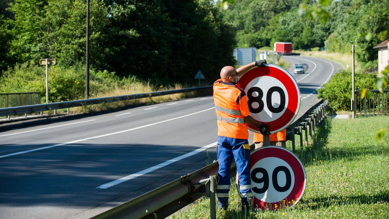 54 kilomètres de routes vont repasser aux 90km/h