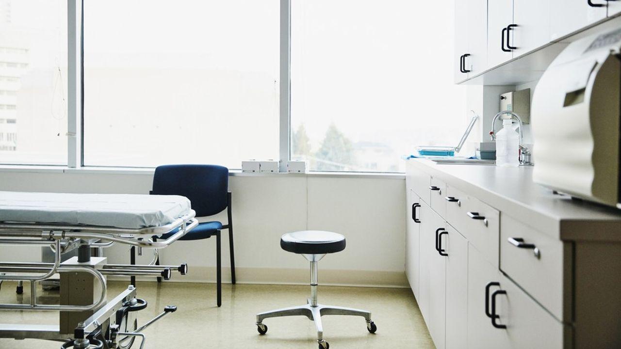 Les cabinets médicaux libéraux ont subi une chute d'activité de plus de 40%.
