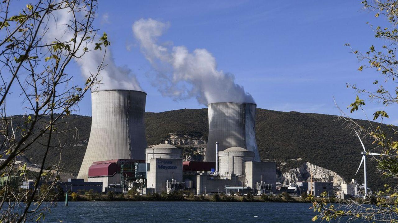 La production d'électricité nucléaire d'EDF devrait être historiquement faible cette année. (Photo by PHILIPPE DESMAZES/AFP)