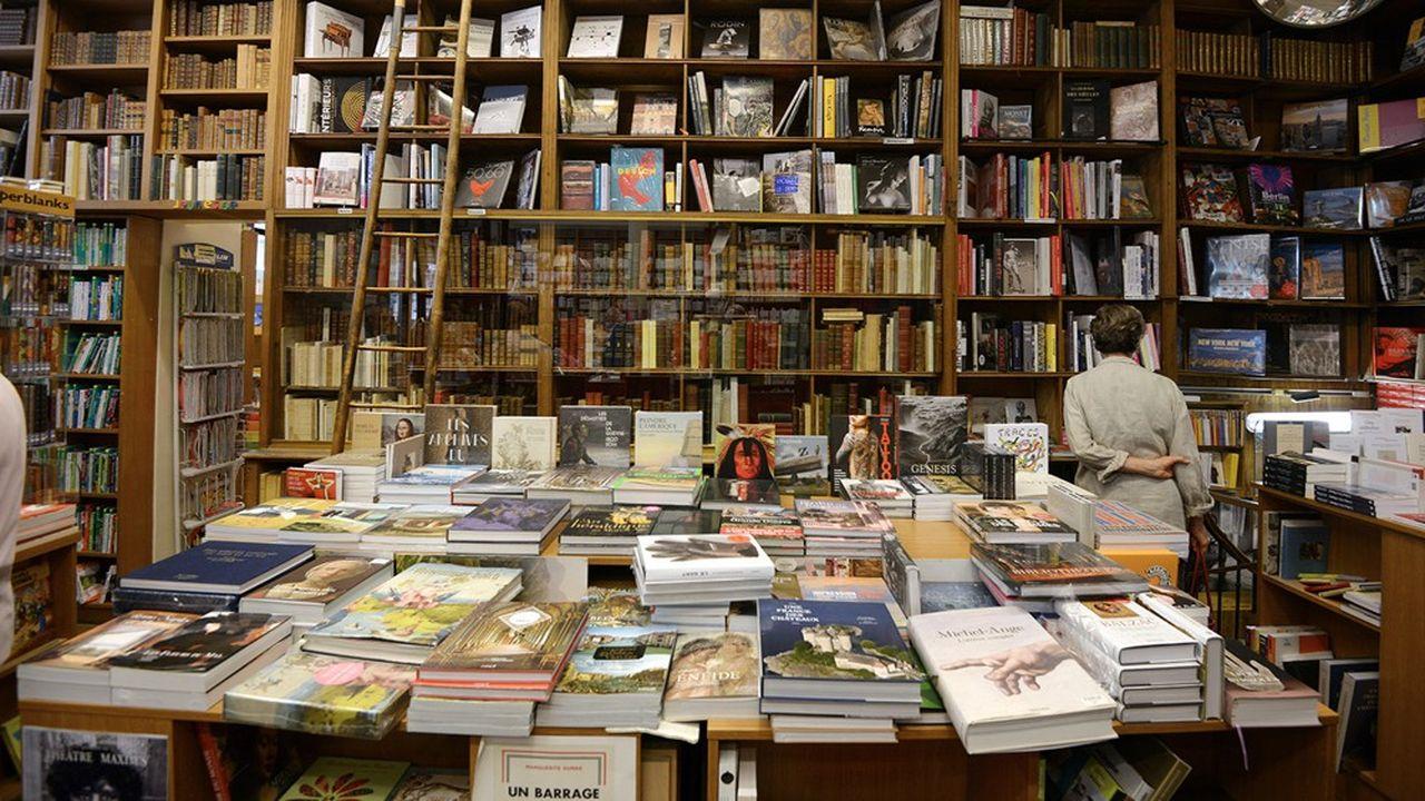 Les librairies les plus importantes (soit entre 700 à 1.300 boutiques) accusent un recul de 52,4% des ventes, selon GfK.
