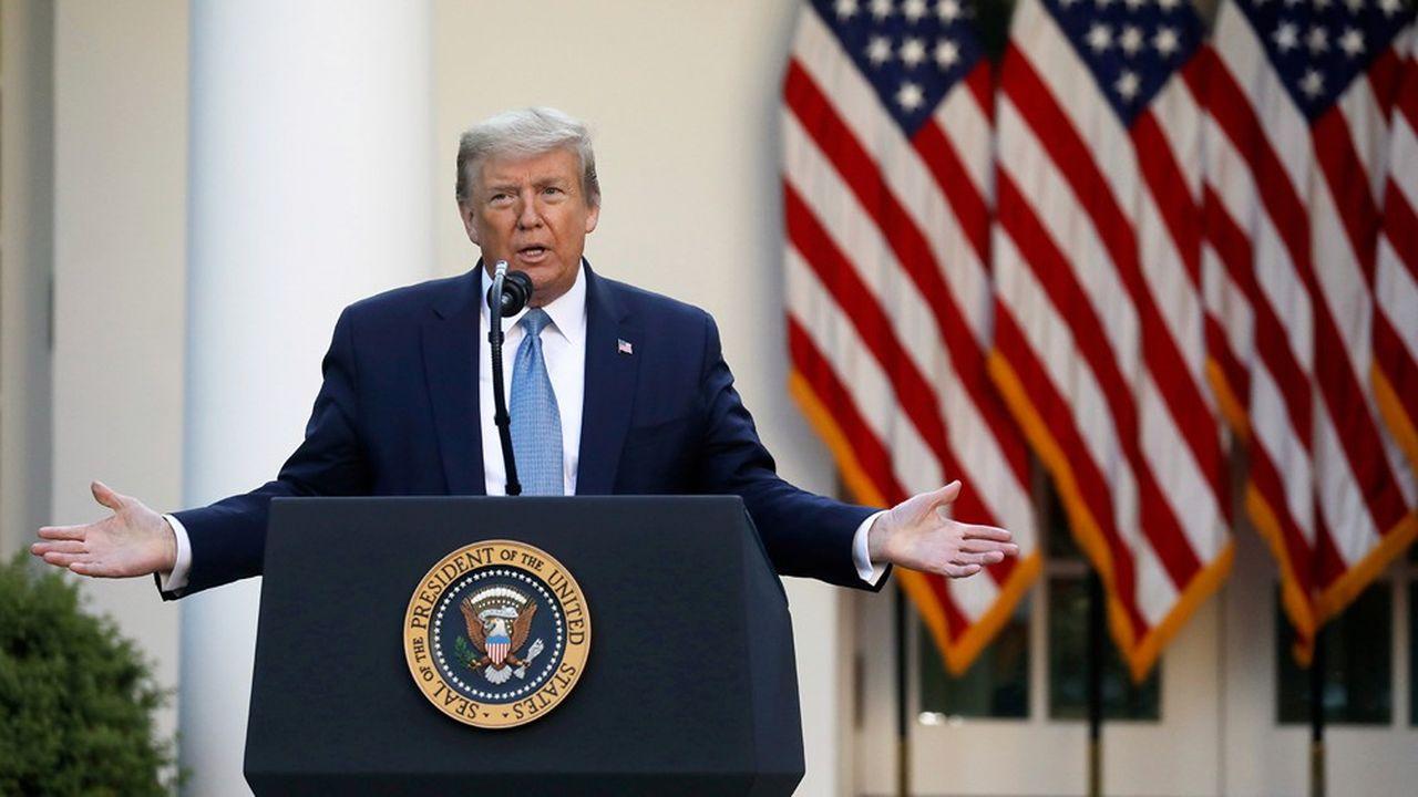 Donald Trump pousse à la réouverture rapide de l'économie américaine. Mais les experts redoutent ses conséquences.