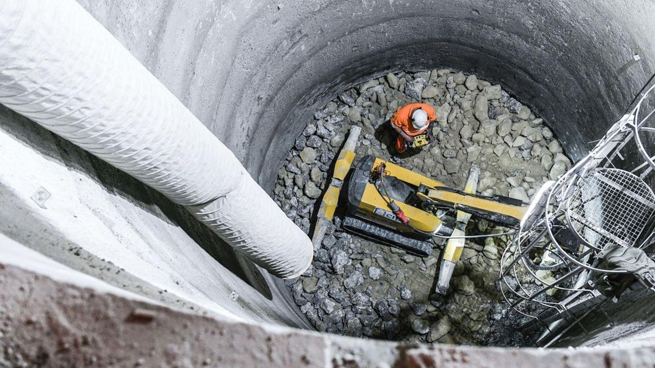L'important chantier de prolongement du RER Eole redémarre lentement