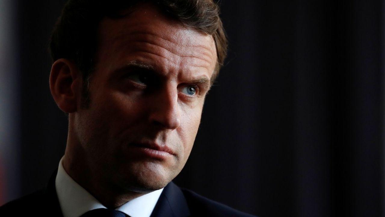 Emmanuel Macron s'est publiquement interrogé sur la gestion chinoise de l'épidémie.