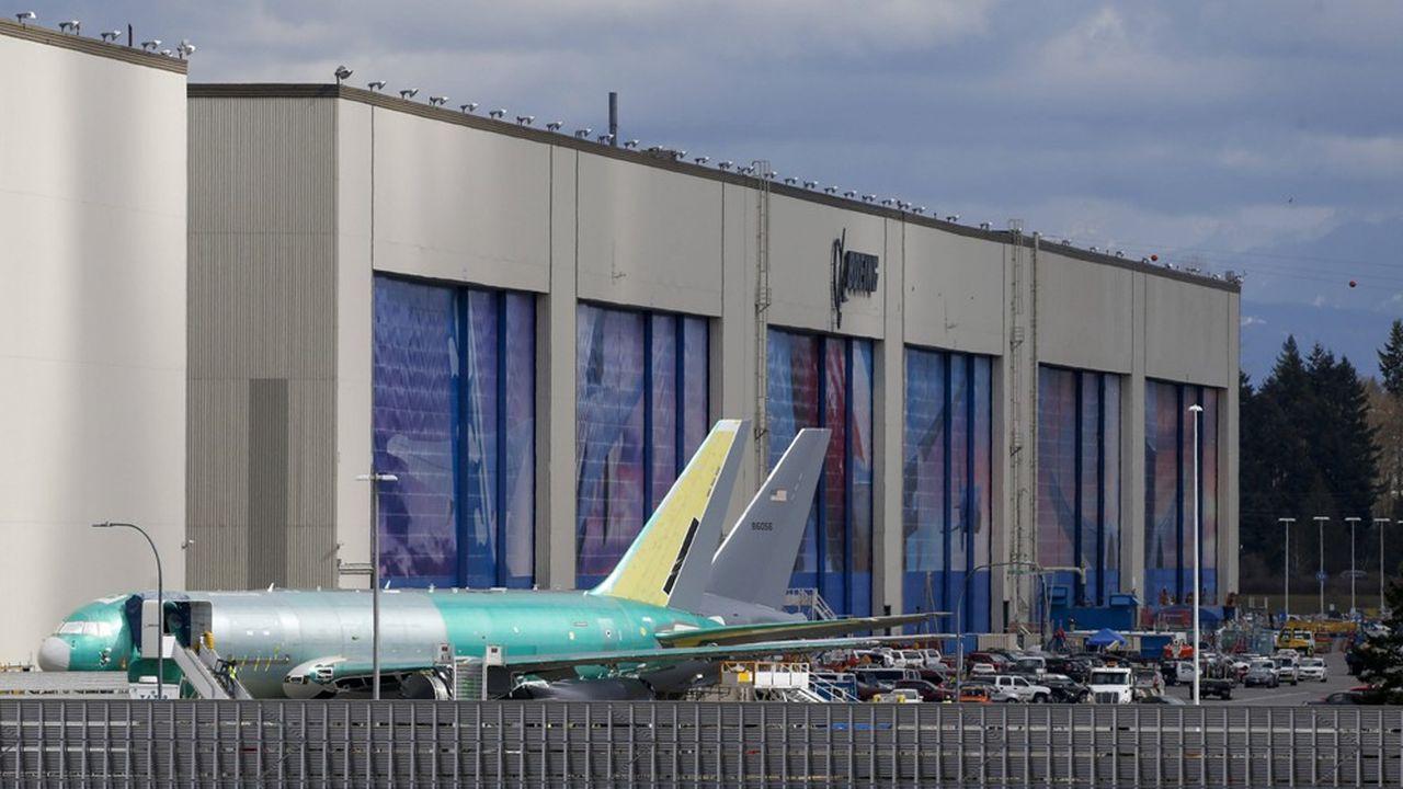 Les usines de Boeing, dans l'Etat de Washington, emploient près de la moitié des salariés du groupe.