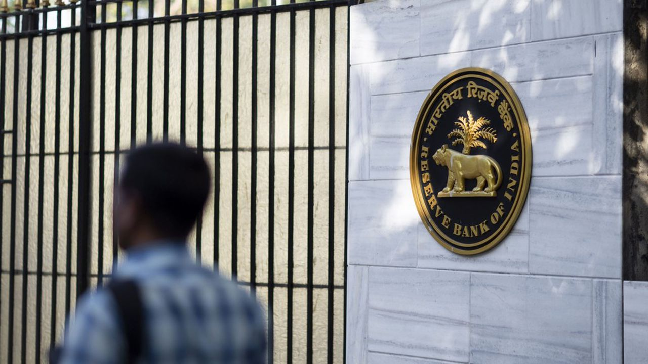 Le siège de la Reserve Bank of India.