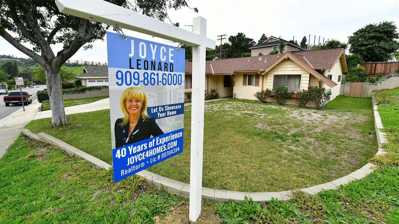 Le marché de l'immobilier est quasiment à l'arrêt aux Etats-Unis, mais les refinancements profitent encore de la baisse des taux.