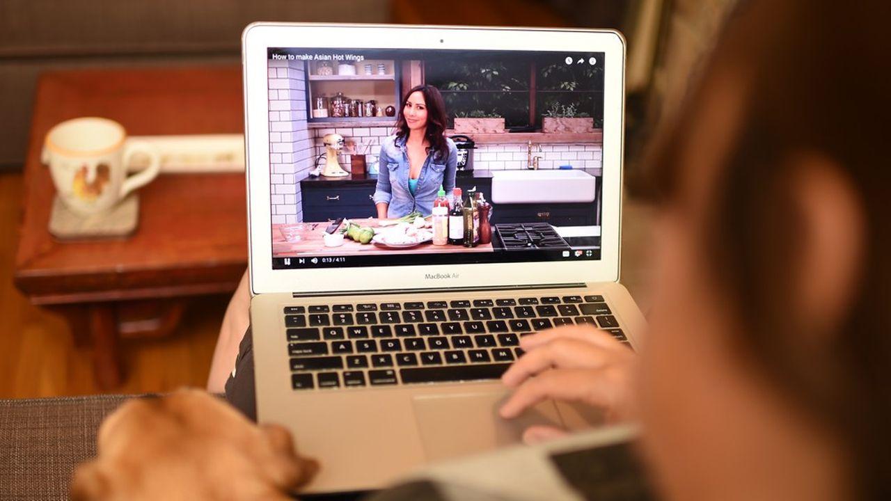 Les utilisateurs sont plus nombreux que l'année précédente à visionner sur Youtube des tutoriels de pain au levain.