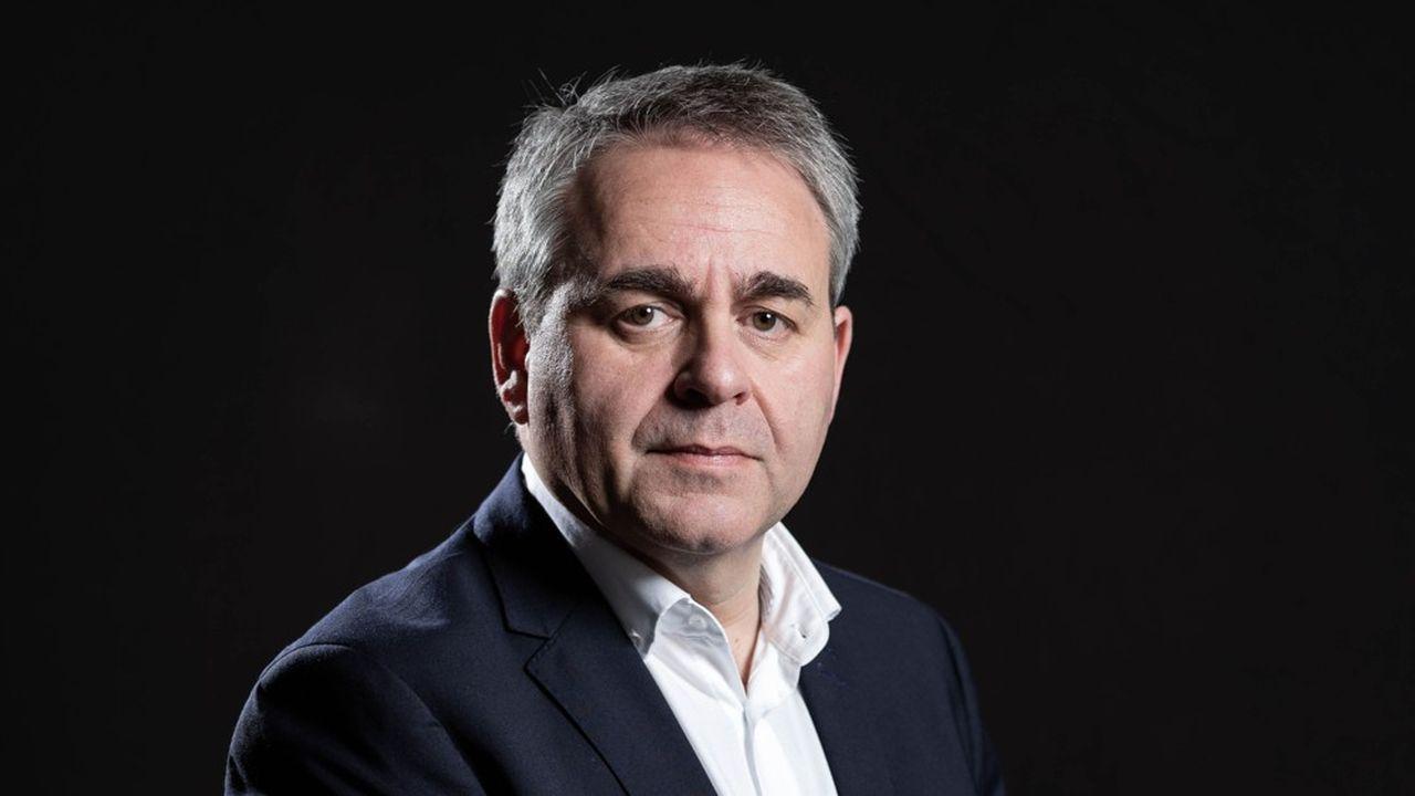 Xavier Bertrand, président de la région Hauts-de-France, appelle à une «union sacrée» entre l'Etat et les régions.