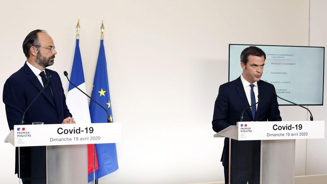 Edouard Philippe et Olivier Véran ont répondu aux questions sur les principes du déconfinement, mais le plan détaillé sera précisé dans une dizaine de jours.