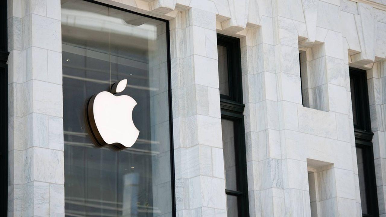 Apple n'a perdu que 3,7% depuis le début de l'année, malgré la fermeture de la plupart de ses points de vente.