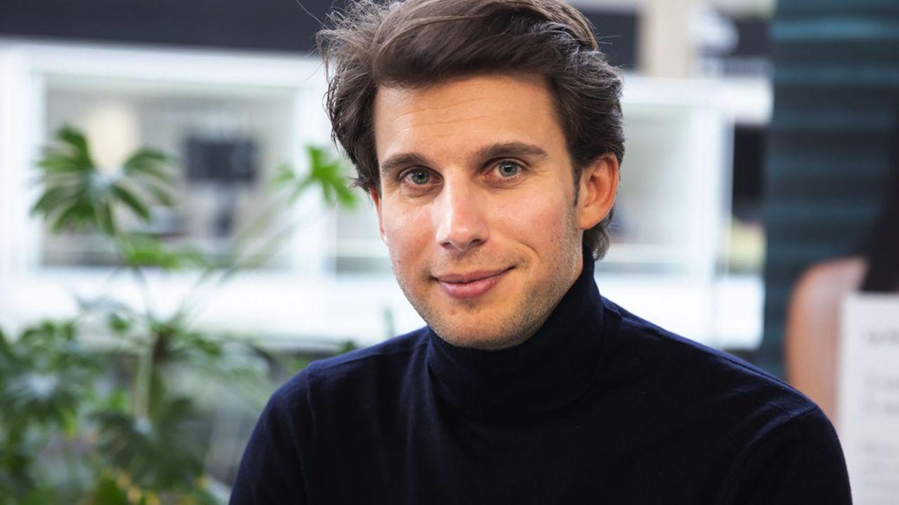 Ludovic de Gromard, le président-fondateur de la jeune entreprise innovante Chance.