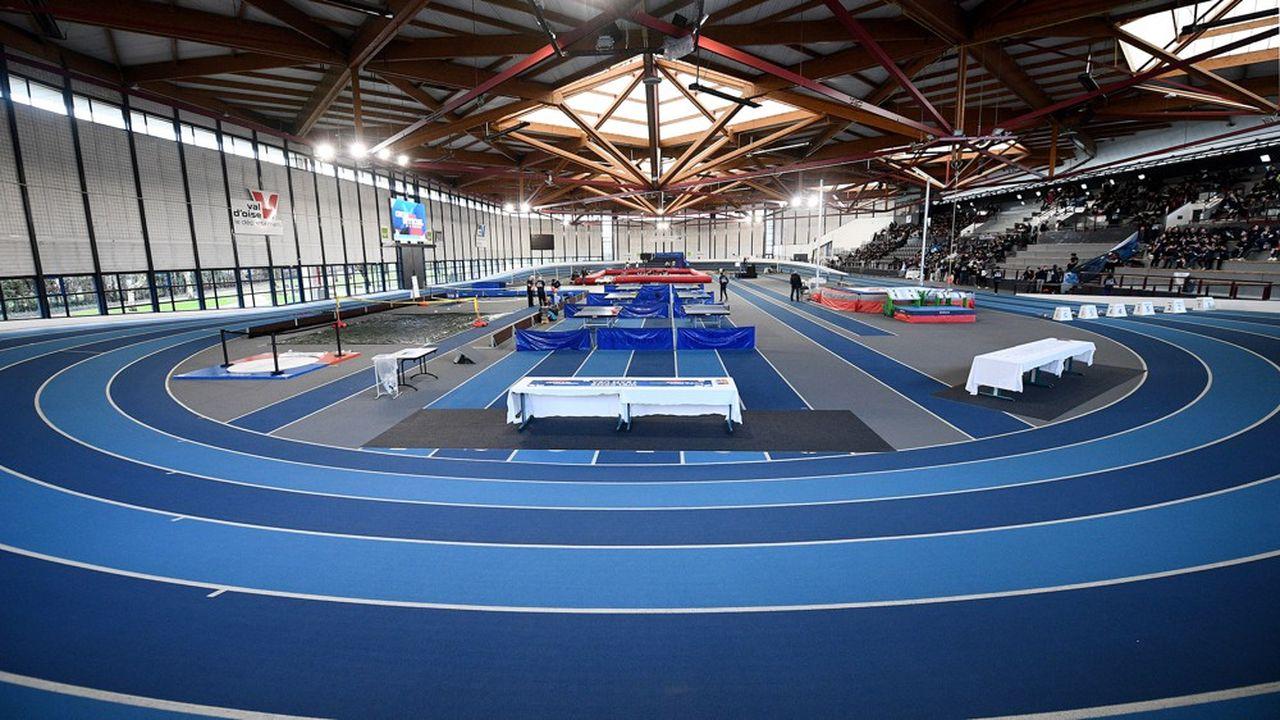 Le Centre départemental de formation et d'animation sportives (CDFAS) d'Eaubonne accueille le personnel hospitalier du Val-d'Oise.