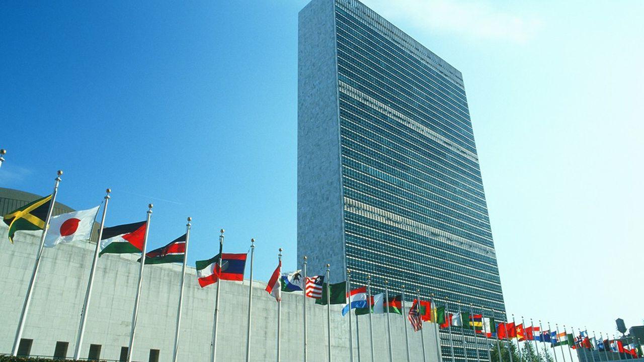 Le siège des Nations unies, à New-York, aux Etats-Unis.