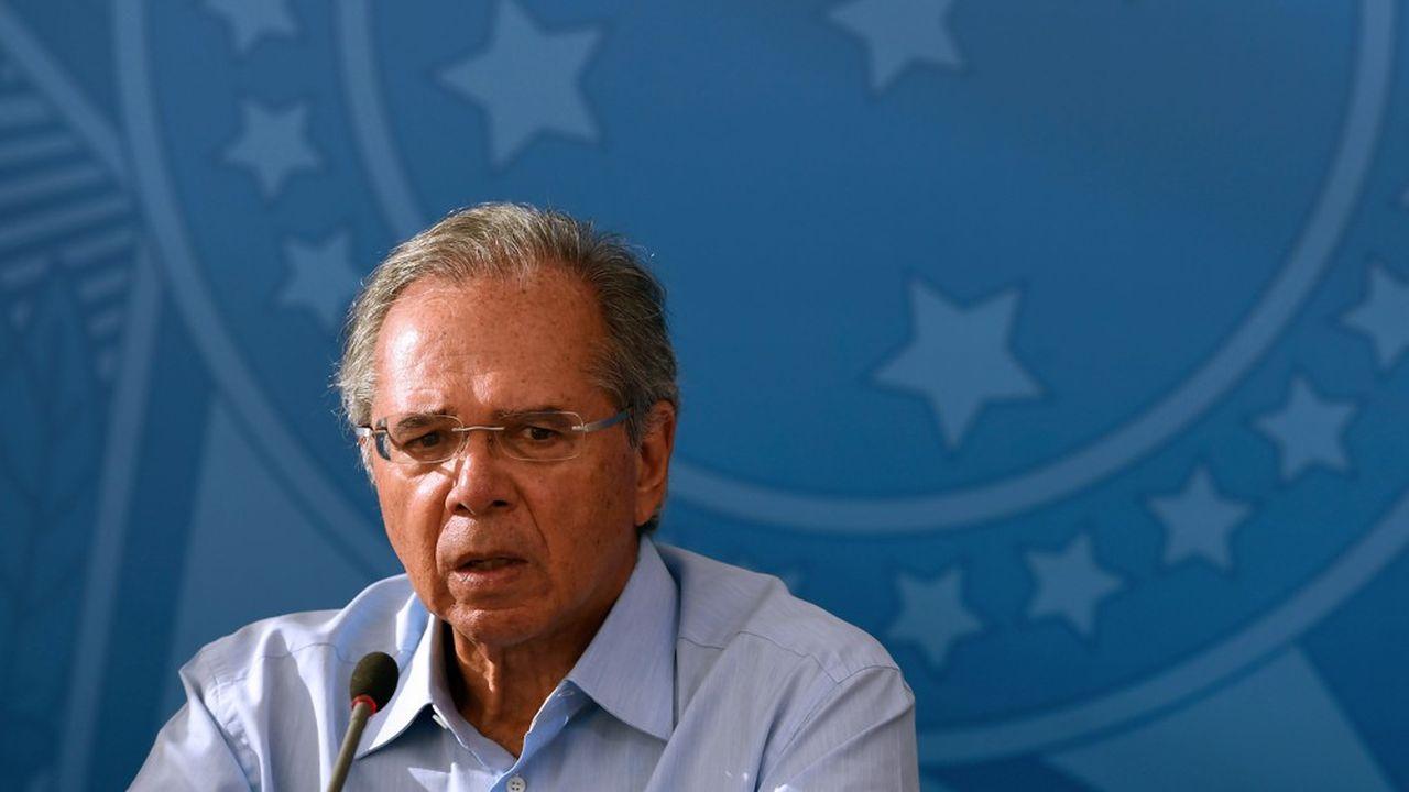 Le ministre de l'Economie brésilien, Paulo Guedes.
