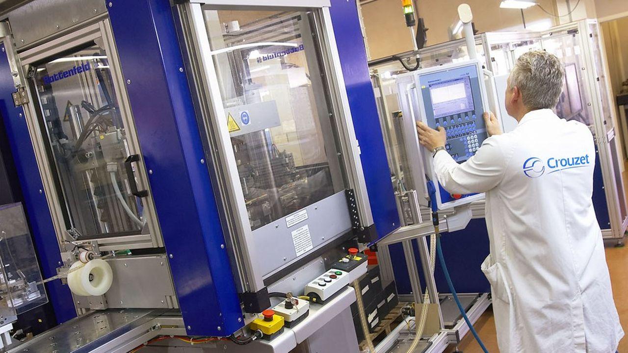 En 2019, Crouzet Automatismes a réalisé un chiffre d'affaires de 165millions d'euros.
