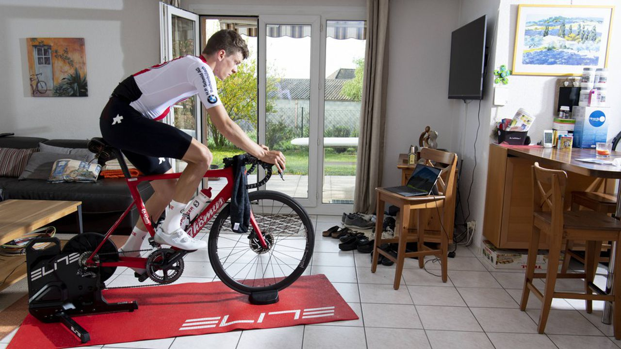Le pistard Robin Froidevaux va également participer à ce premier Tour de Suisse virtuel