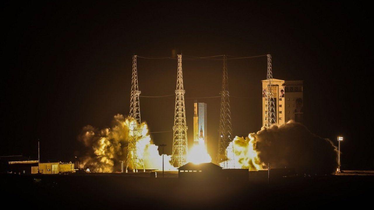 En février, une première tentative de lancement s'était soldée par un échec.