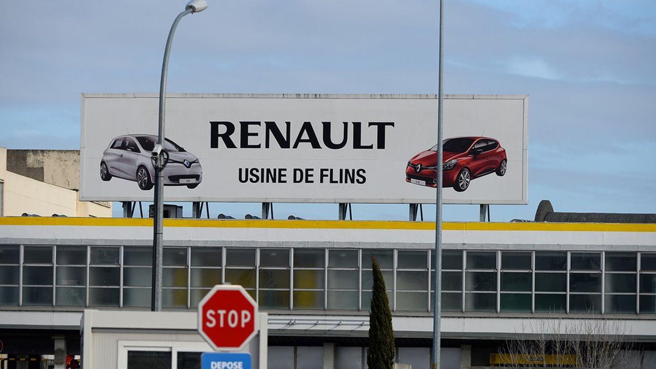 L'usine de Flins sera la première usine d'assemblage du Losange à redémarrer en France, le 28avril.