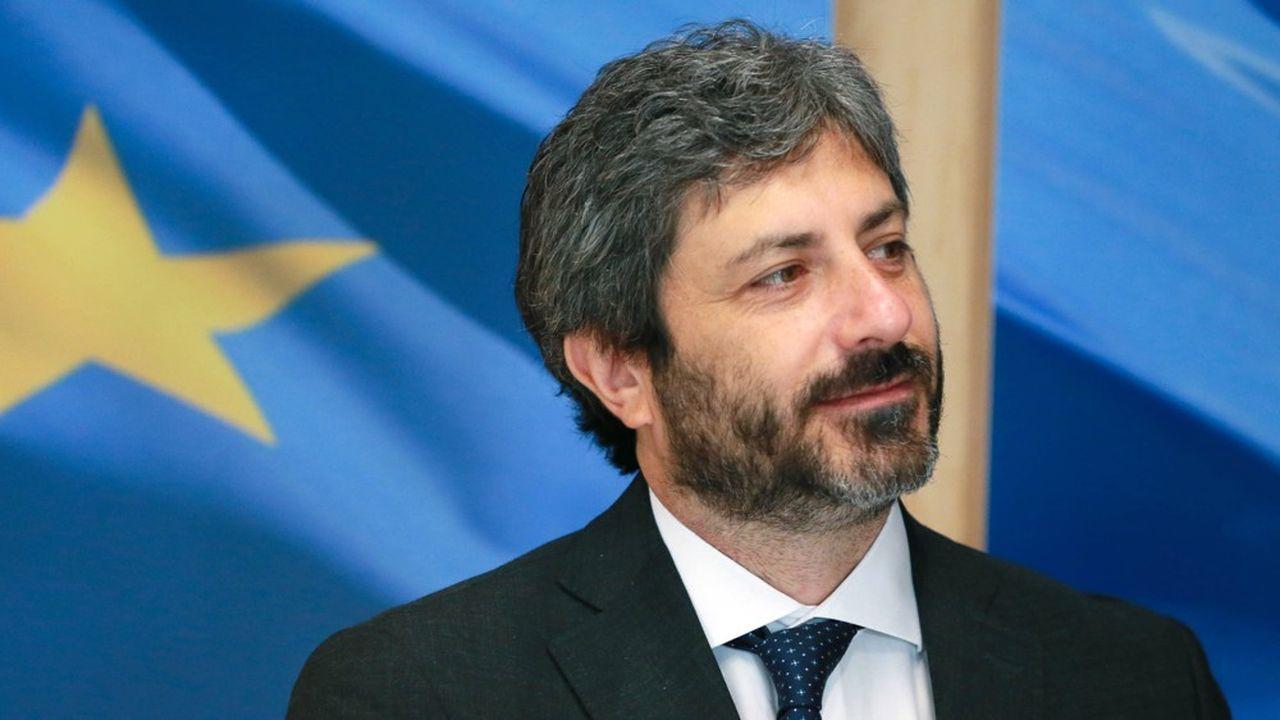 Le président de la Chambre des députés en Italie, Roberto Fico.