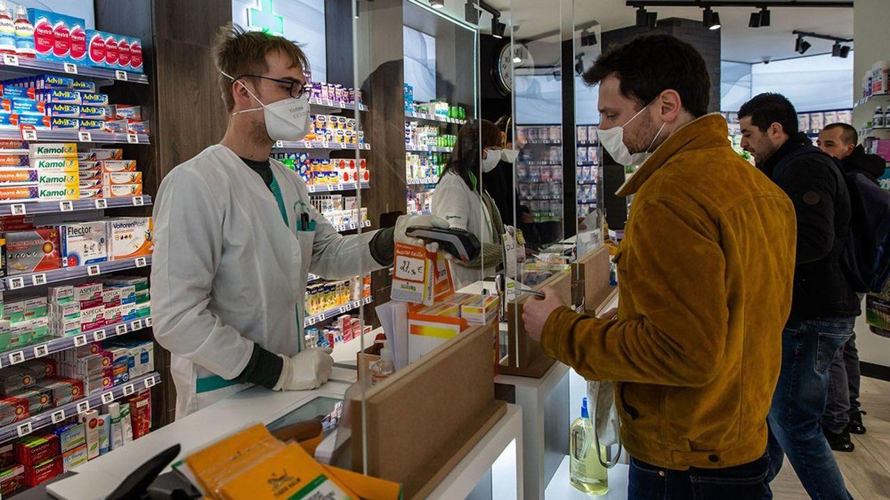Un partenariat avec les pharmaciens de la ville permet aux habitants de connaître l'existence de ces brigades.