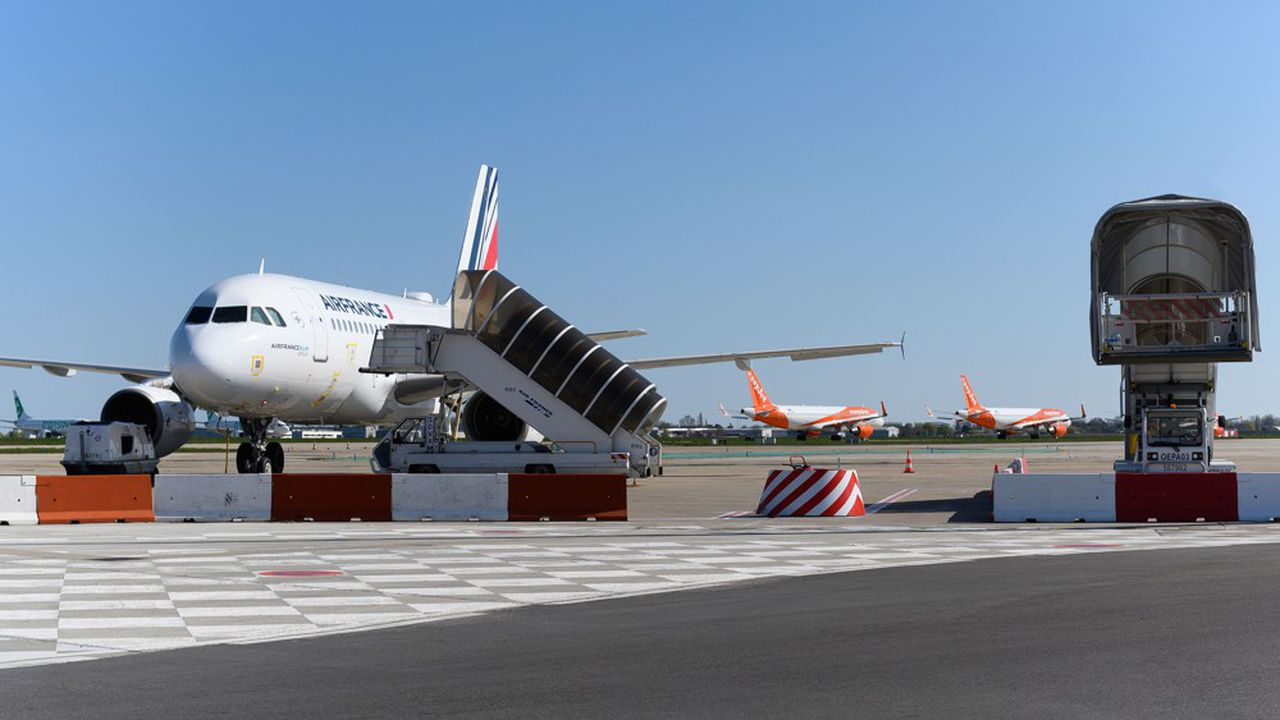 Le réseau domestique d'Air France devrait faire les frais de l'amplification de la restructuration.