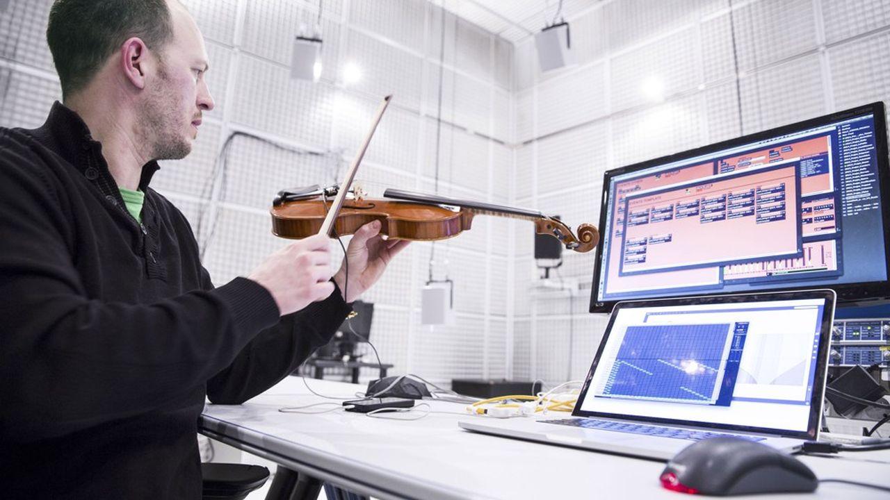Greg Beller, artiste, chercheur et réalisateur en informatique musicale. L'Ircam compte une centaine de briques technologiques qui peuvent intéresser les entreprises.
