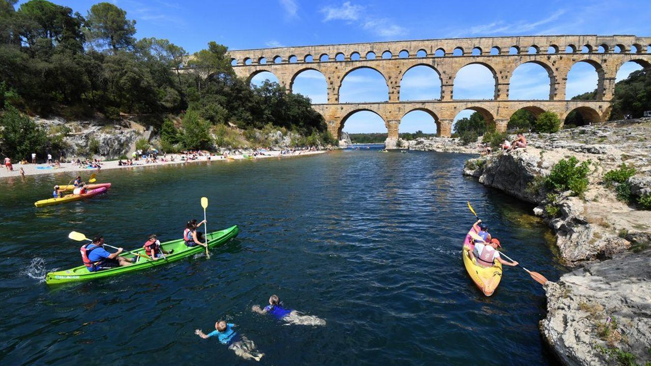 Dans le Gard, le tourisme pèse 13 % du PIB.