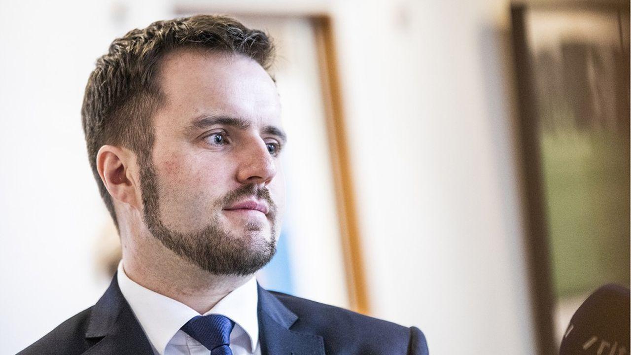 Le ministre danois de l'industrie et des affaires financières, Simon Kollerup.