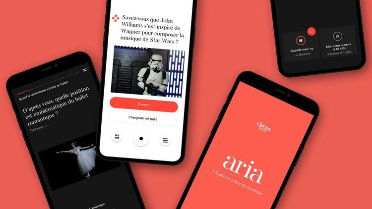 L'application aria est financée par le mécénat Huawei.