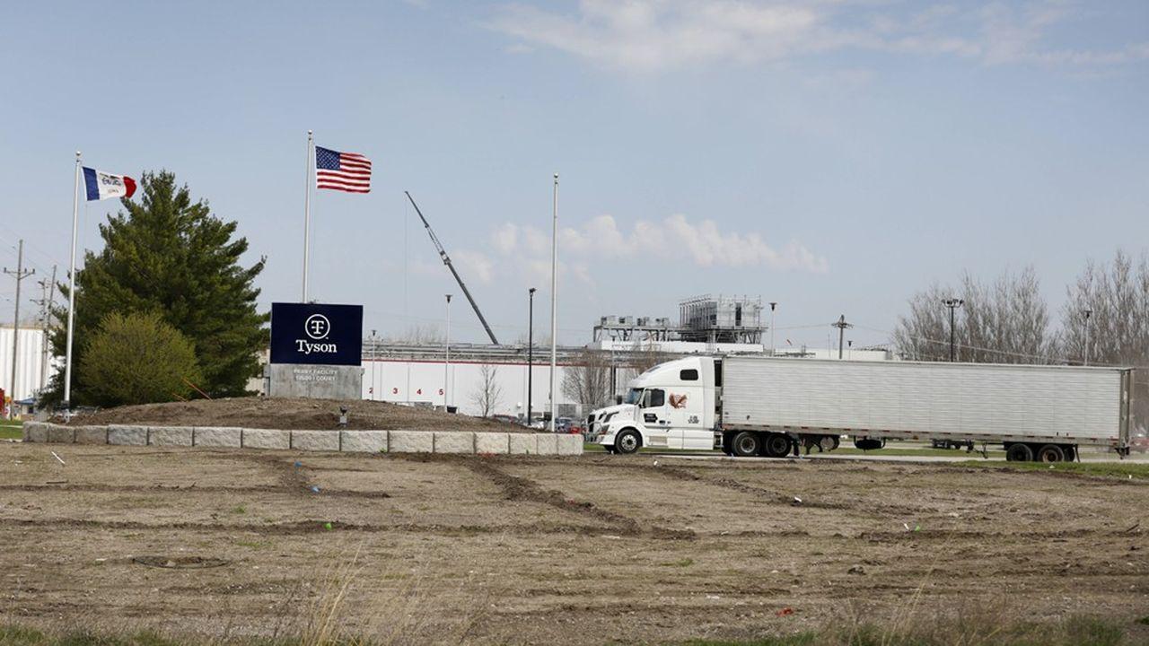 Jeudi, Tyson Foods a annoncé la fermeture d'une usine de 1.400 salariés dédiée à la viande de boeuf et de porc dans l'Etat de Washington.