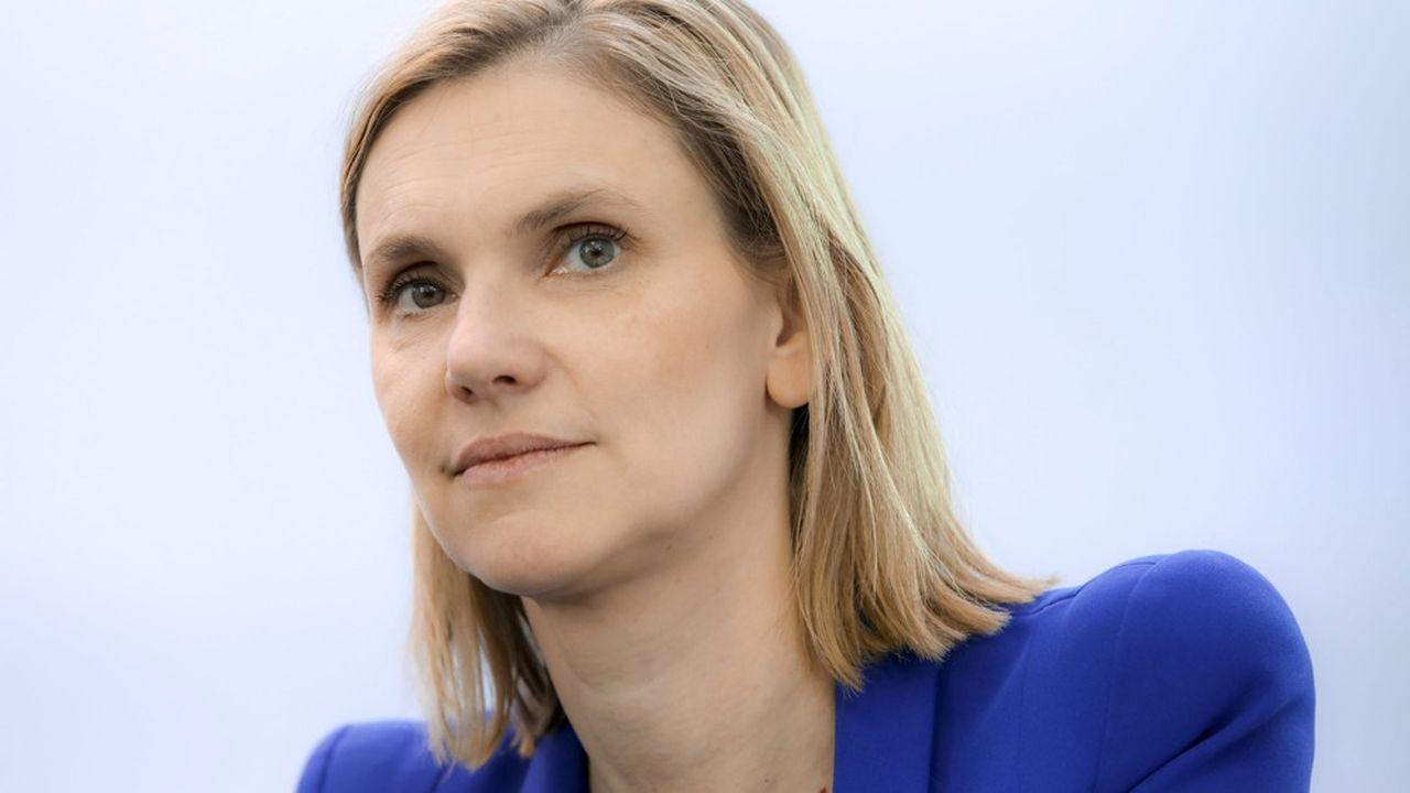 Agnes Pannier Runacher, secrétaire d'Etat auprès du ministre de l'Economie et des Finances