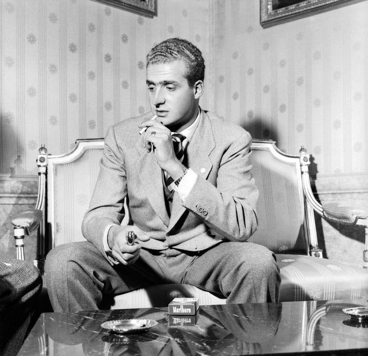 Le « prince de pacotille » dans les années 1960.