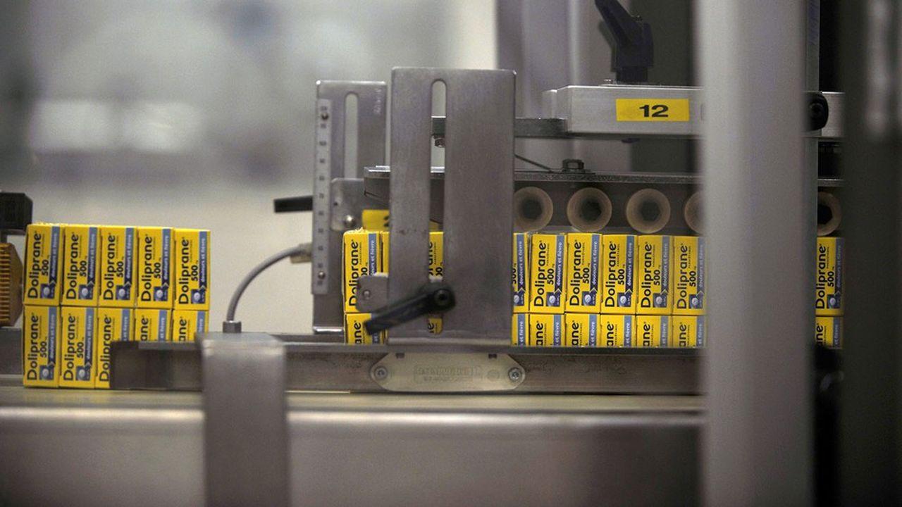 Les ventes de Doliprane, un antidouleur à base de paracétamol produit par Sanofi, ont progressé de 20%