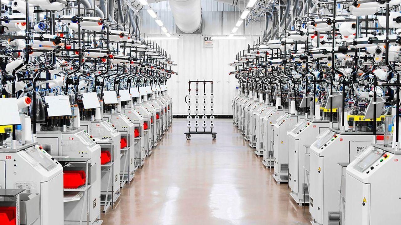 La capacité de production de Thuasne à Saint-Etienne dépasse désormais 100.000 exemplaires par semaine.