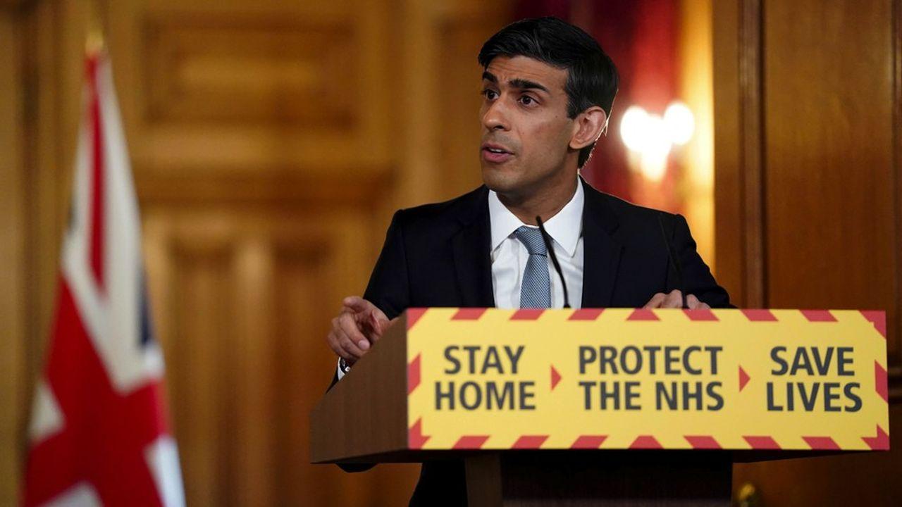 Le ministre britannique des Finances, Rishi Sunak, a annoncé quelque 60milliards de livres de dépenses pour limiter les effets du coronavirus sur l'économie, soit l'équivalent d'un peu moins de 3% du PIB.